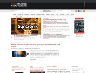 musitec.com.br screenshot