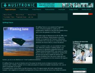 musitronic.blogspot.com.es screenshot