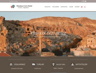 muskaracavehotel.com screenshot