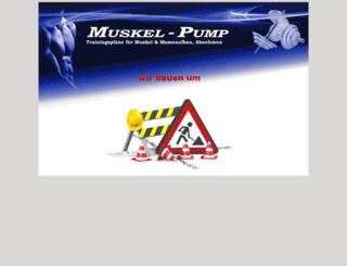 muskel-pump.de screenshot