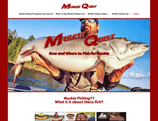 muskiequest.com screenshot