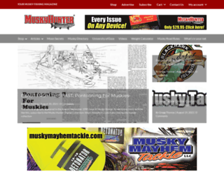 muskyhunter.com screenshot