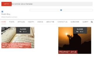 muslim-blog.com screenshot
