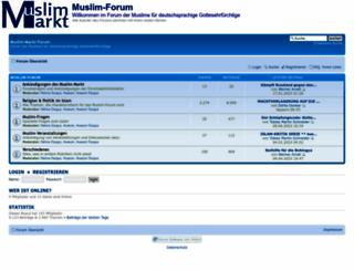 muslim-markt-forum.de screenshot