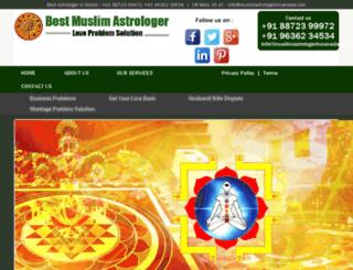 muslimastrologerincanada.com screenshot