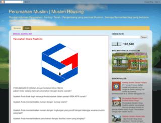 muslimhousing.blogspot.com screenshot