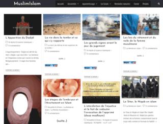 muslimislam.fr screenshot
