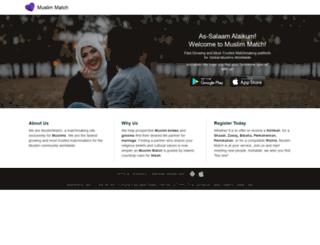 muslimmatch.com screenshot