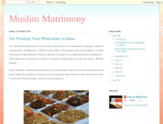 muslimmatrimonyblog.blogspot.in screenshot