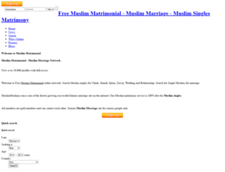 muslimmuslima.com screenshot