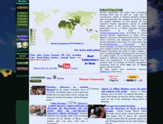 muslimpopulation.com screenshot