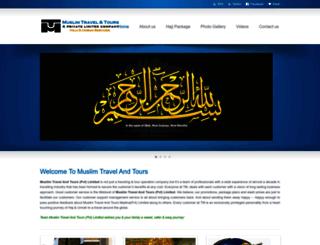 muslimtravelandtours.com screenshot