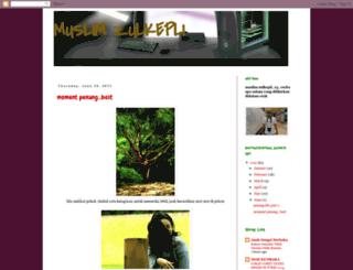 muslimzulkepli.blogspot.com screenshot