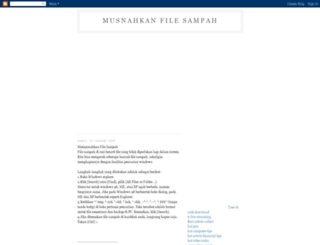 musnahkanfile.blogspot.com screenshot