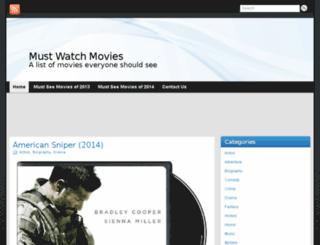 must-watch-movies.com screenshot