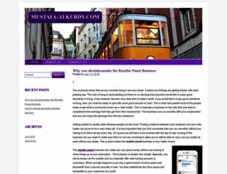 mustafa-alkurdy.com screenshot