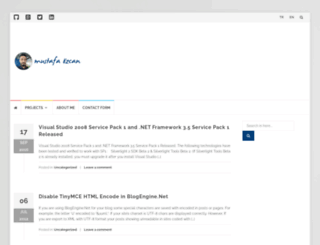 mustafaozcan.net screenshot