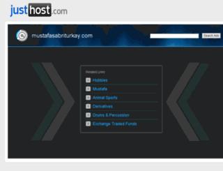 mustafasabriturkay.com screenshot