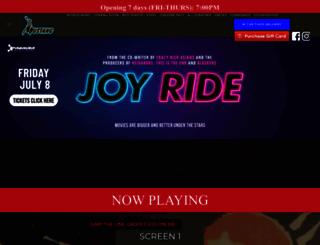 mustangdrive-in.com screenshot