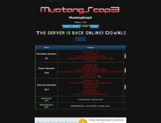 mustangscape.4umer.com screenshot