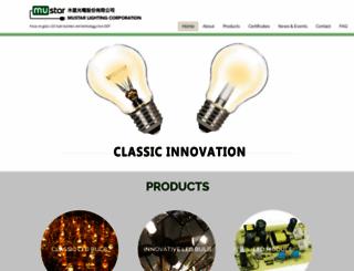 mustar.com screenshot