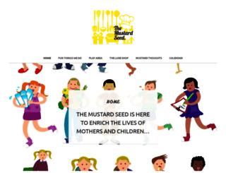 mustardseedsite.wordpress.com screenshot