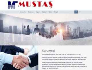 mustas.com.tr screenshot