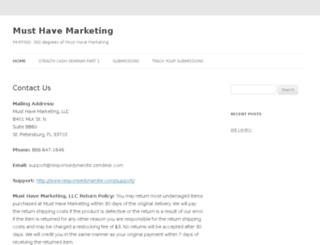 musthavemarketing.com screenshot