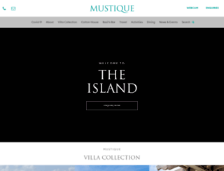 mustique-island.com screenshot