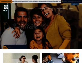 mustministries.org screenshot