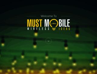 mustmobile.com screenshot