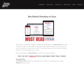 mustreadtexas.com screenshot