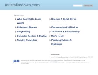 mustslimdown.com screenshot