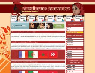 musulmane-rencontre.fr screenshot