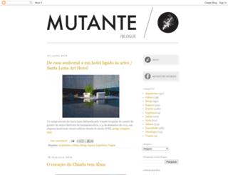 mutantemagazine.blogspot.com screenshot