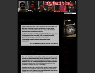 mutantes.com.ar screenshot