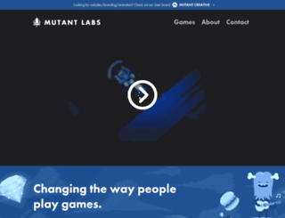 mutantlabs.co.uk screenshot