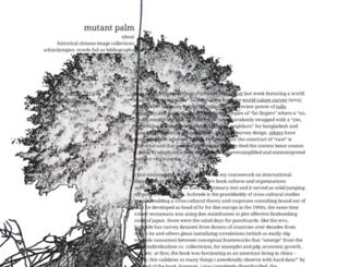 mutantpalm.org screenshot