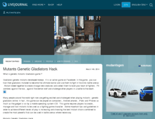mutantsgen.livejournal.com screenshot