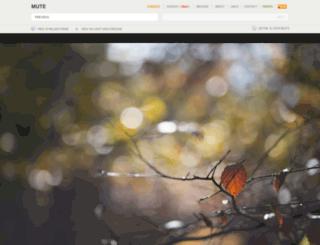mute.rigent.com screenshot