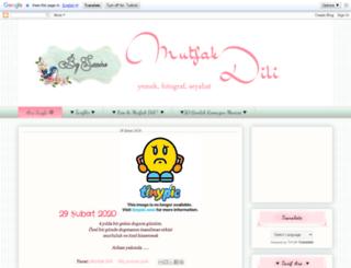 mutfakdili.blogspot.com screenshot