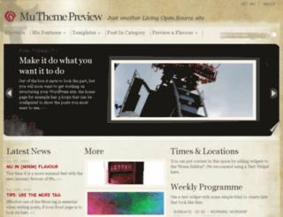 mutheme.livingos.com screenshot