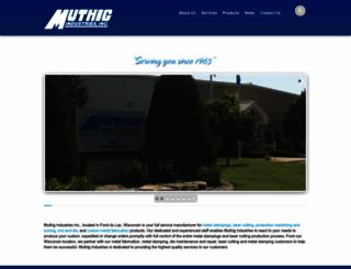 muthigindustries.com screenshot