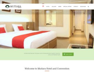 mutiarahotel.com screenshot