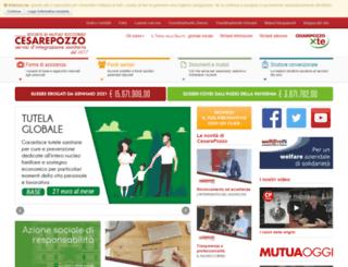 mutuacesarepozzo.org screenshot