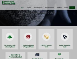 mutualfundinvestorguide.com screenshot