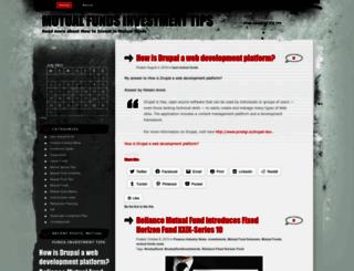 mutualfundsinvestment.wordpress.com screenshot