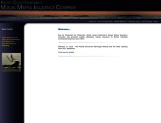mutualmarine.bc.ca screenshot