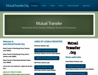 mutualtransfer.org screenshot