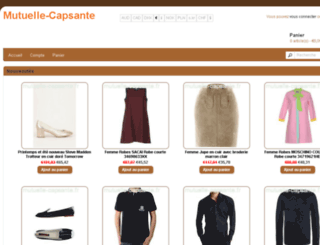 mutuelle-capsante.fr screenshot
